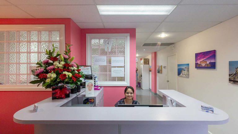 ProSmile Dental - Reception Area